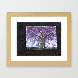 Wisdom Blossomed in Darkness Framed Art Print