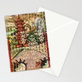 The Interlocking Mechanism of Compartmentalization (1) Stationery Cards