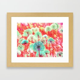Flowers of Fantasy Framed Art Print