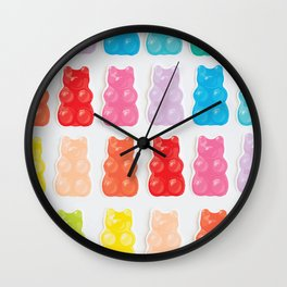 Gummy Bears Wall Clock