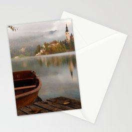 Boat to the Castle (Color) Stationery Cards
