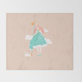 Daru Daru Throw Blanket