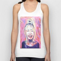 allyson johnson Tank Tops featuring Betsey Johnson by AntiPosi
