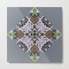 Cut Stump Reflection 7 Metal Print