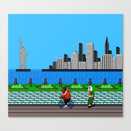 Ask Gary Vee Show - NES Punch Out Training Canvas Print