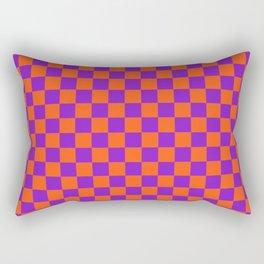 Checkered Pattern VIII Rectangular Pillow