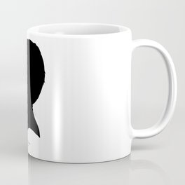 Will Carlson Silhouette Coffee Mug