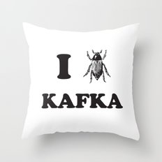 Kafka Throw Pillow