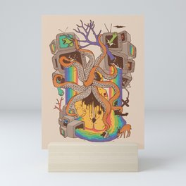 A Fragmented Reality Mini Art Print