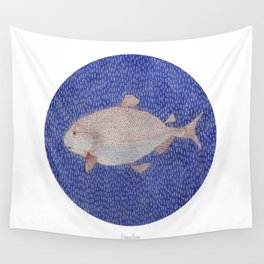 Salmon Wall Tapestry