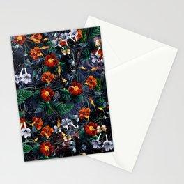 Nasturtium Night Stationery Cards