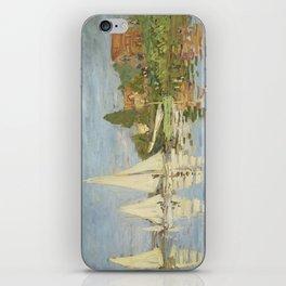 Regattas at Argenteuil by Claude Monet iPhone Skin
