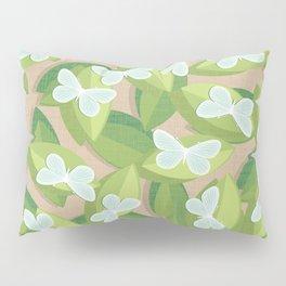 Wood White Pillow Sham