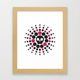 DeathParade Logo Framed Art Print
