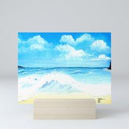 Beach View Mini Art Print