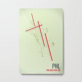 PHL Metal Print