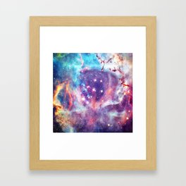 the Cosmos Framed Art Print
