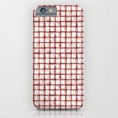 Marsala Pattern Slim Case iPhone 6s