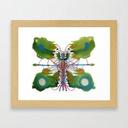 Inksect Framed Art Print