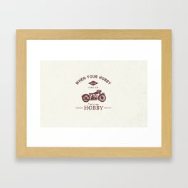 Passions & Hobbies Framed Art Print