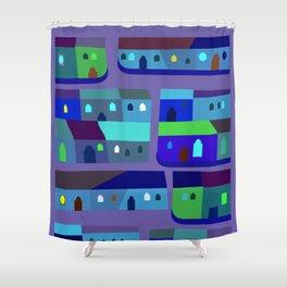 Tepito de Azul Shower Curtain