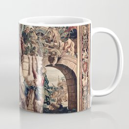Triumph of Constantine over Maxentius at the Battle of the Milvian Bridge Coffee Mug