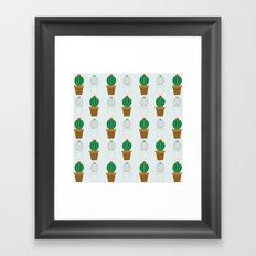 C13D Cactus Framed Art Print