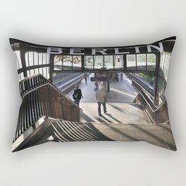 suburban railway station - Berlin Rectangular Pillow