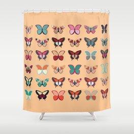 Butterflies collection 02 Shower Curtain