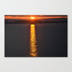Path to Sunshine Canvas Print