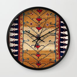 Azerbaijani Northwest Persian Carpet Print Wall Clock