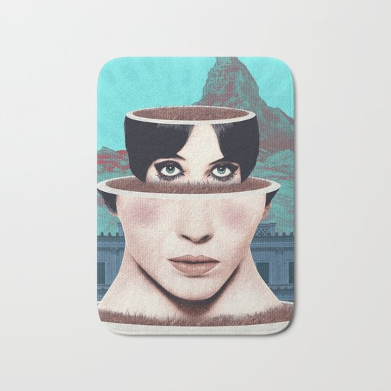 Matrioska Girl / Surrealism Bath Mat