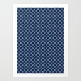 """tenugui""""mimasu"""" Art Print"""