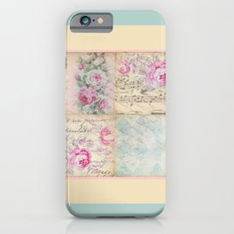 Shabby Chic 2 iPhone Case