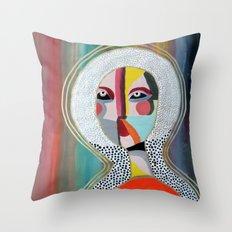 Aura 2 Throw Pillow