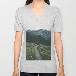 Happy Trails III Unisex V-Neck