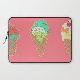 Neon Cones Laptop Sleeve