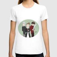 jem T-shirts featuring Jem, Tessa, and Will by amiokae