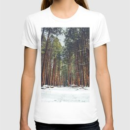The Winter Forest (Color) T-shirt