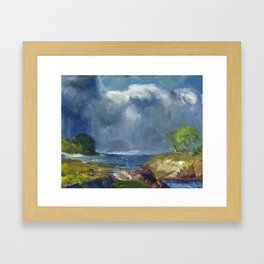 George Bellows - The Coming Storm, 1916 Framed Art Print