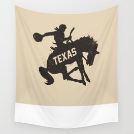 Texas Cowboy Wall Tapestry