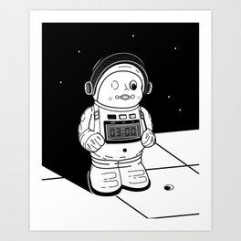 ASTROBOT Art Print