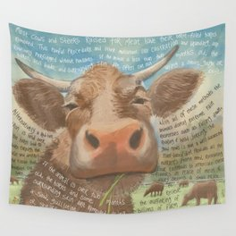 Cows 3 Wall Tapestry