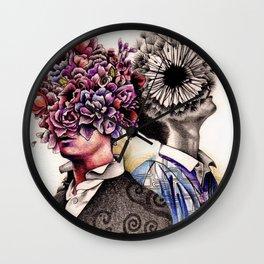 Optimist/Pessimist Wall Clock