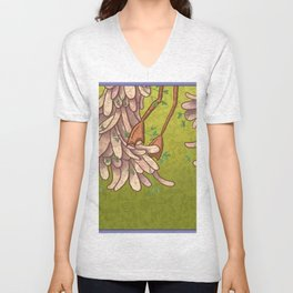 The Other Side of the Bird Unisex V-Neck