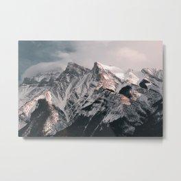Millenial Mountains Metal Print