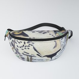 Never Resting - Leopard by Maureen Donovan Fanny Pack