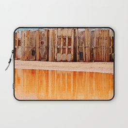 Lobster Traps and Red Sand Laptop Sleeve