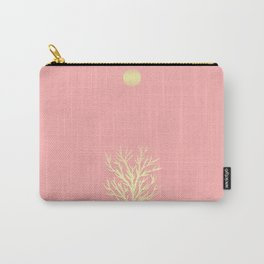 white tree and full moon Carry-All Pouch
