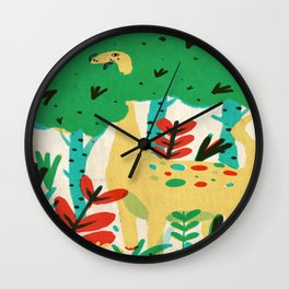 lunch Wall Clock
